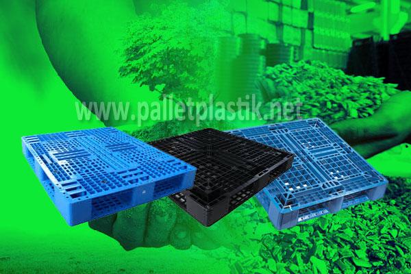 pallet plastk murah, efektif mudah di daur ulang
