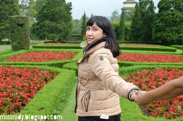 taman perancis di taman bunga nusantara