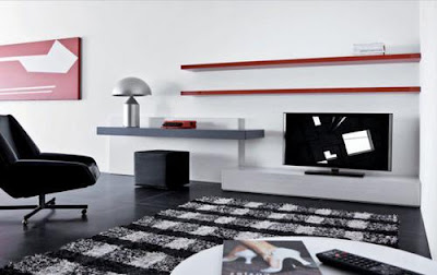 Some Elegant Shelf Design For Living Room