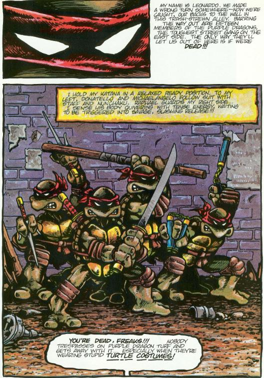 Tmnt Entity Compare Contrast The Many Colorizations Of