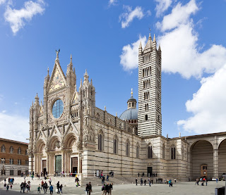 Siena's magnificent Duomo, where Senesino sang as a boy. is a masterpiece of Italian Romanesque architecture
