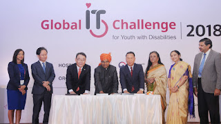 Global IT Challenge for Youth with Disabilities held in New Delhi