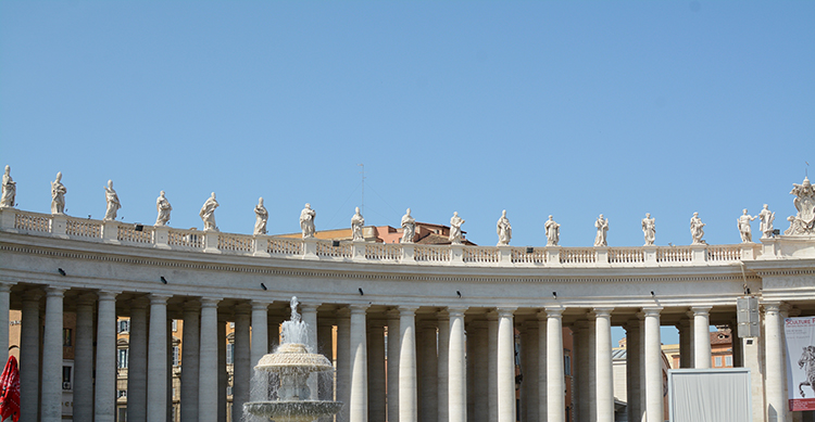 Rome; St. Peter's Square | My Darling Days