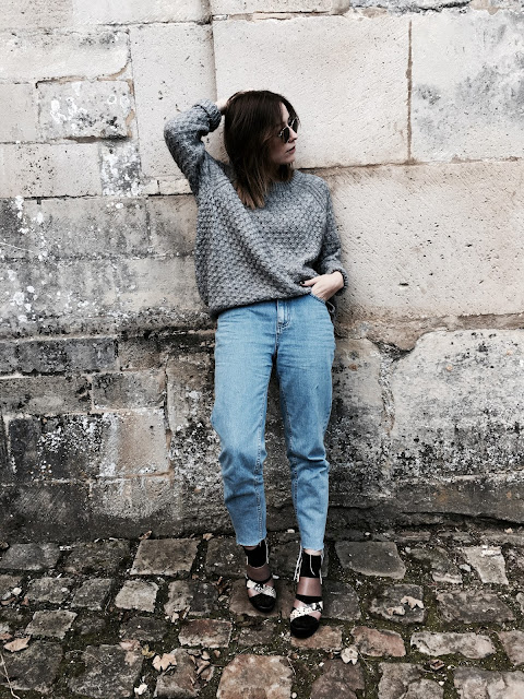 gris pull selection shopping autumn women femme mode ootd look style zara hm asos pull&bear fashion