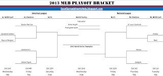 2013 mlb playoff bracket