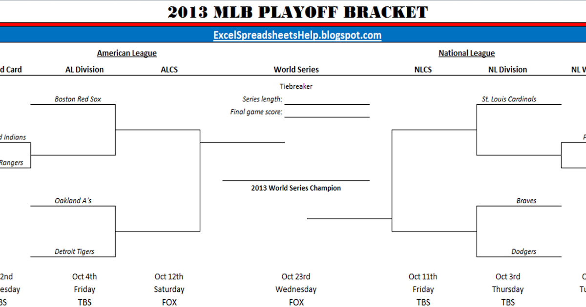Beaches] Major league baseball playoff games schedule