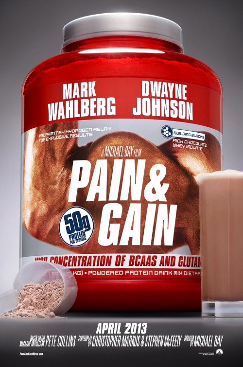 Pain Gain movie poster