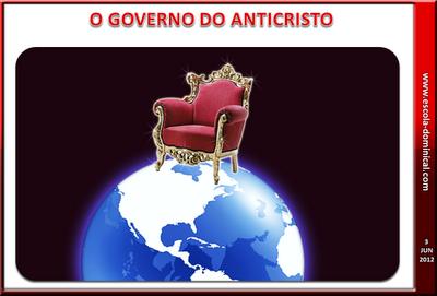 Resultado de imagem para o governo do anti cristo
