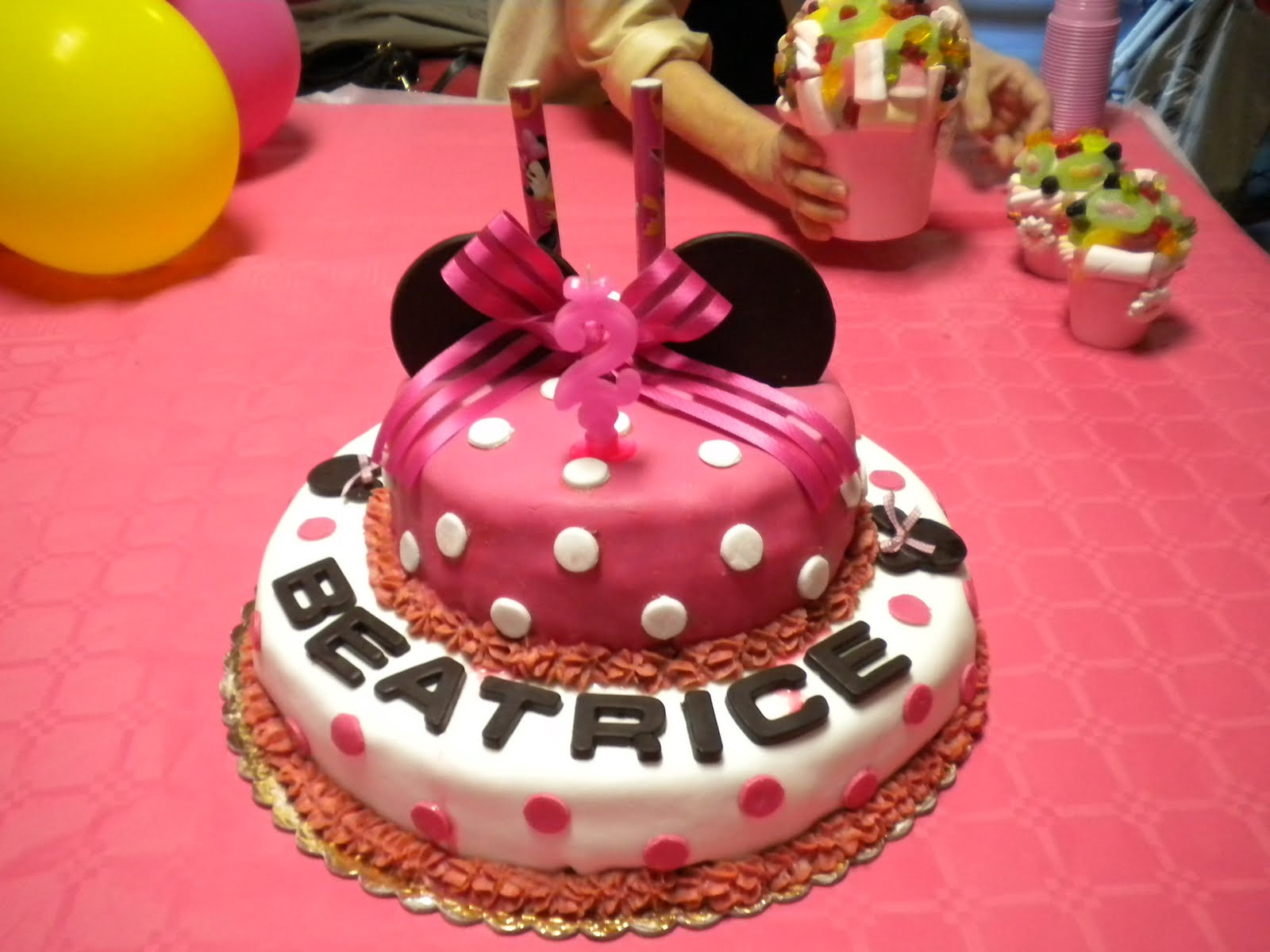 Perle Di Cucina La Torta Di Carolina Per Beatrice