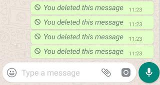2 Cara Hapus Pesan WhatsApp Untuk Semuanya yang Dikirim Lebih dari 7 Menit
