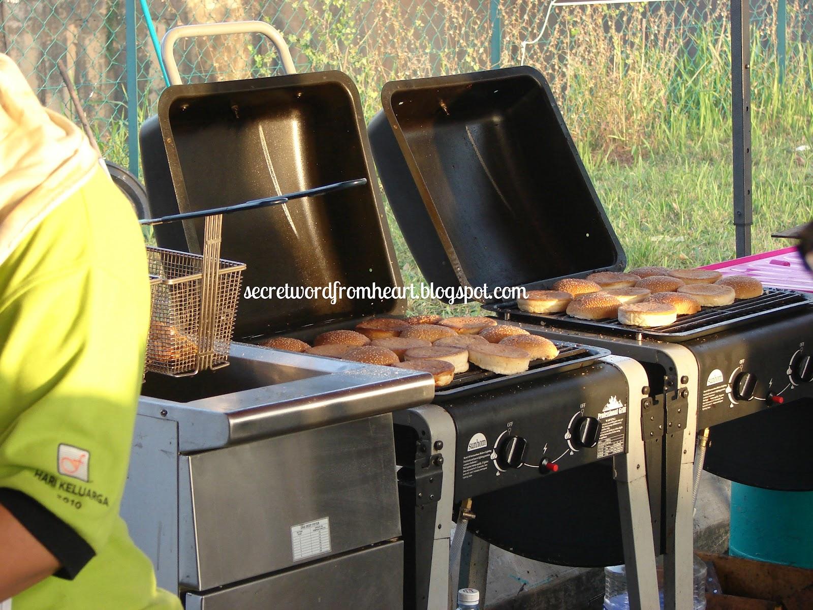Dapur Grill Burger Bakar Desainrumahid