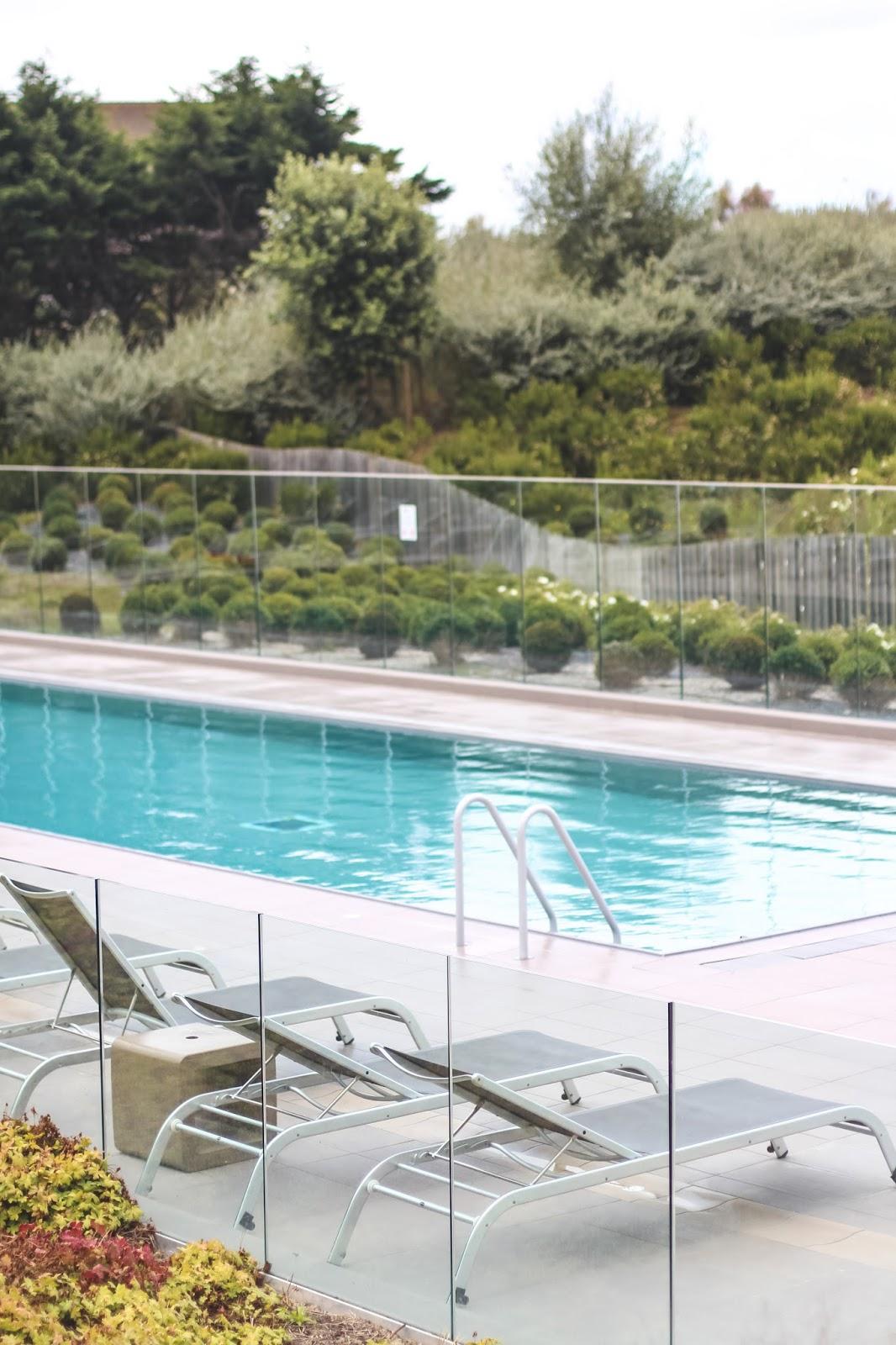 piscine hôtel les bains de cabourg