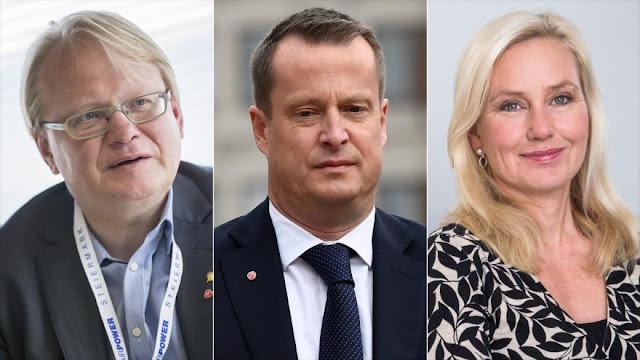 Premier sueco expulsa a 2 ministros por escándalo de filtraciones