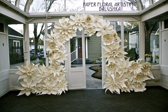 Balushka: Wedding Project: The Arch