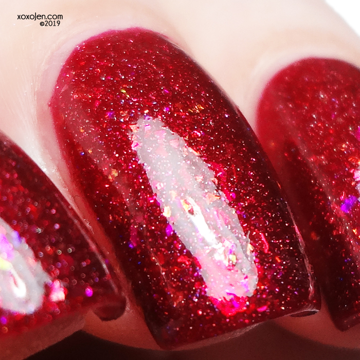 xoxoJen's swatch of Wildflower Lacquer Schwing