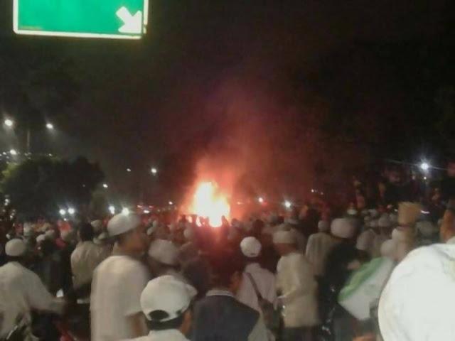 FPI curiga mobil terbakar saat Tabligh Akbar sudah direncanakan