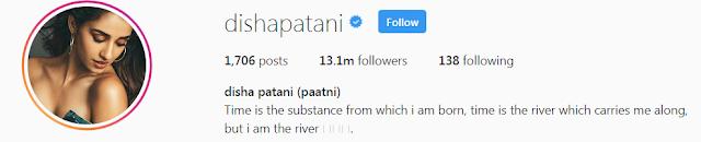 disha patani instagram
