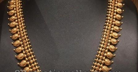 Mango Mala With Krishna Locket Jewellery Designs