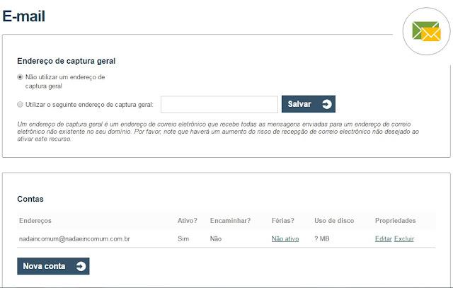 e mail - Onde.com melhor site para hospedagem de sites