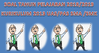 Prediksi Soal UAS SMA PJOK Kelas XI Semester 1 K13 Tahun 2018/2019