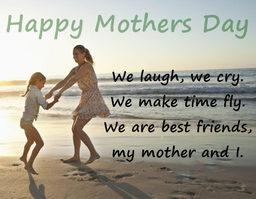 Happy mothers day quotes by daughter