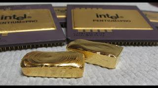 """وحدة المعالجة المركزية,""""CPU"""",كمية المعادن الثمينة من الالكترونيات,كمية الذهب  من وحدة المعالجة المركزية (""""CPU""""),"""