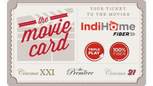 indihome movie card