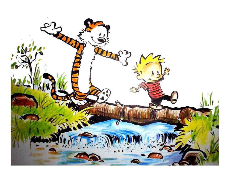 The Styling Game Calvin And Hobbes