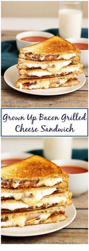 Grown Up Bacon Grilled Cheese