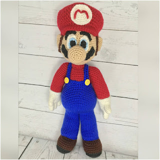 patron amigurumi Mario Bross holly's hobbies