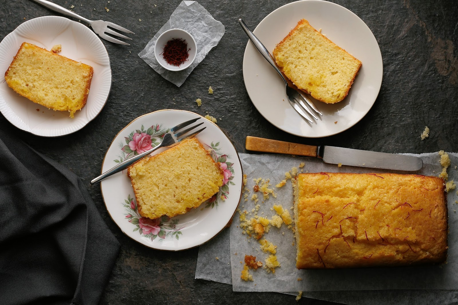 Lemon loaf that freezes very well.