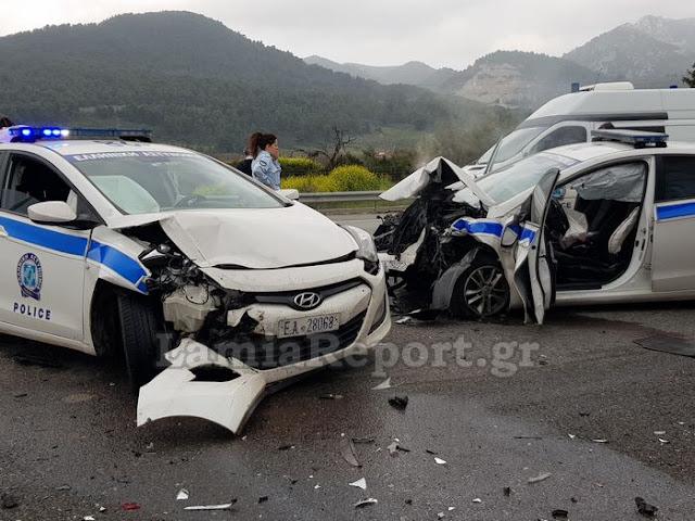 Επεισοδιακή καταδίωξη: Οδηγός εμβόλισε περιπολικά και σκοτώθηκε  στο οδόφραγμα (βίντεο)