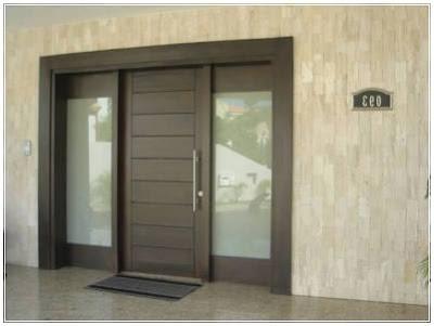desain model daun pintu utama