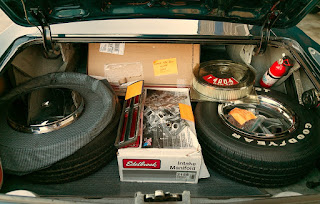 1967 Pontiac LeMans GTO Convertible Baggage