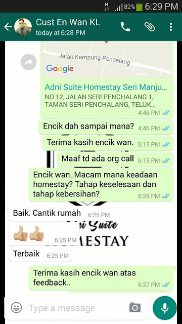 Adni Suite Homestay Seri Manjung Lumut || Encik Wan- Review