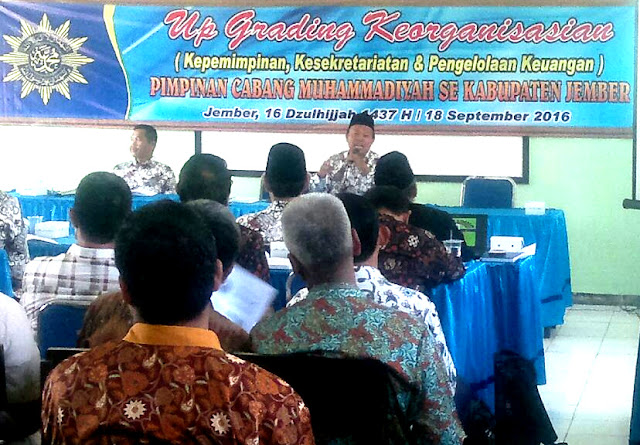 Upgrading keorganisasian PDM Muhammadiyah Jember