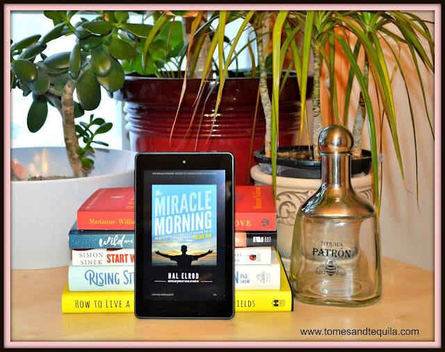 The Miracle Morning by Hal Elrod review by Tomes and Tequila Blog