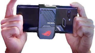 Image result for Asus ROG phone air trigger