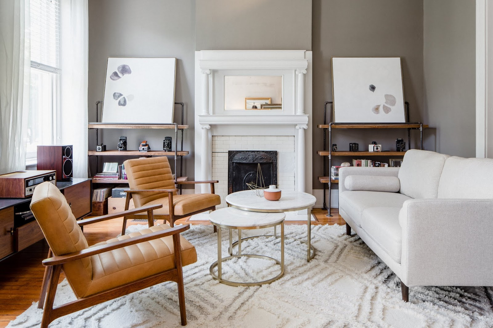 First Look: Front Room Reveal + The Chairs That Started It All
