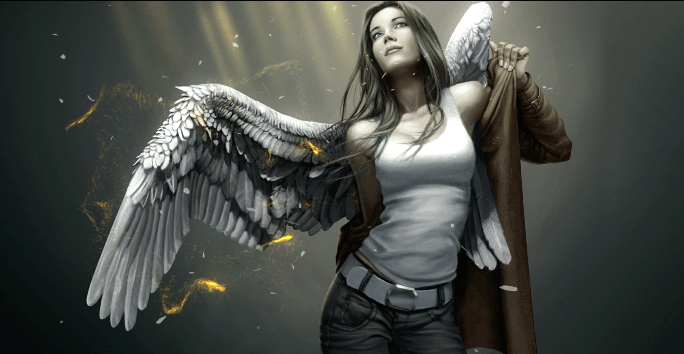 Walpaper Girl Angel [Wallpaper Engine Free]