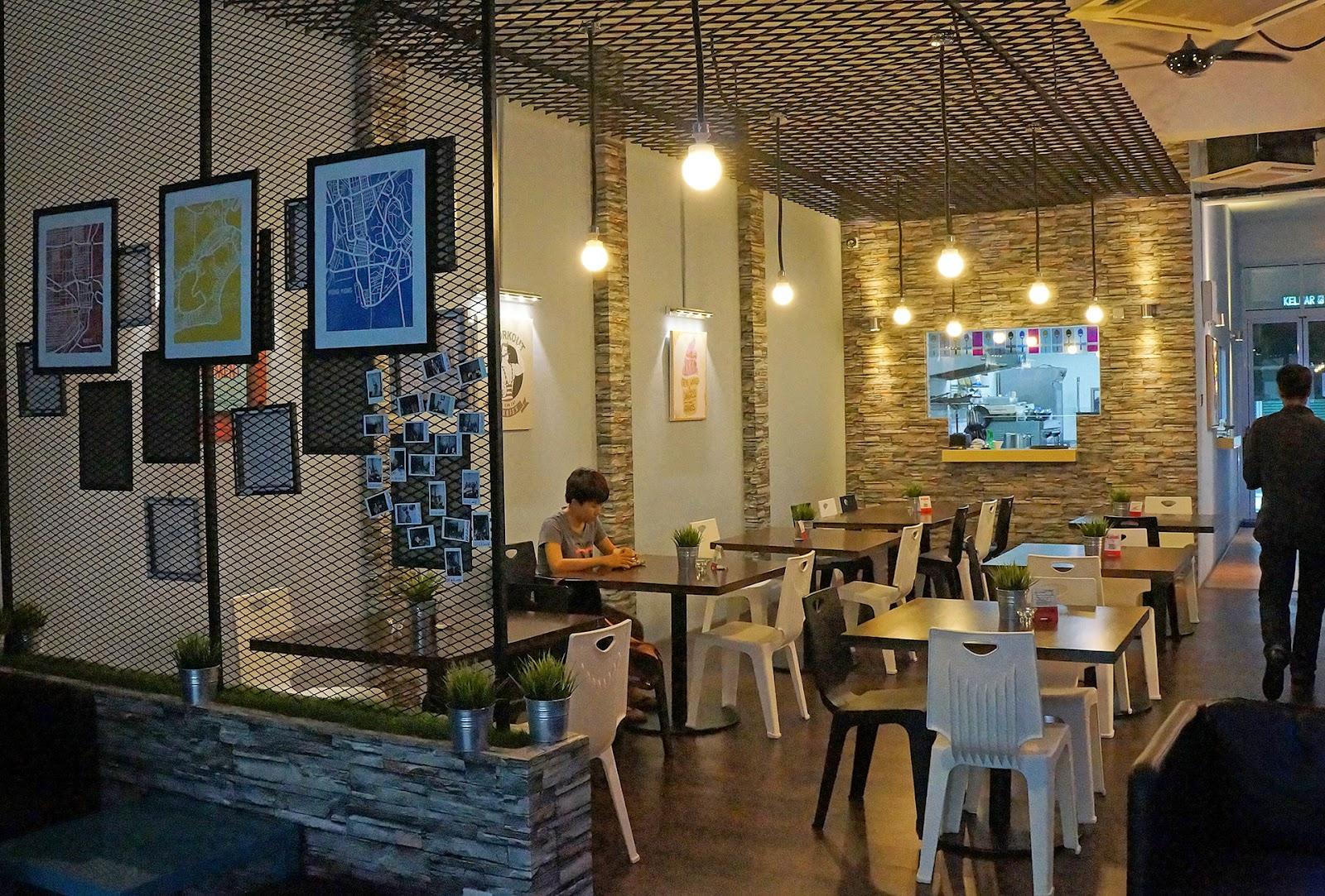 kitchen island designs with seating cost cabinets 贪吃的狗: (新店)the hungry spoon @ sri petaling 加拿大学厨归来的年轻厨师