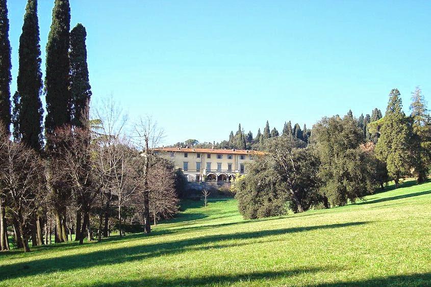 The parco all'inglese of Villa di Quarto near Florence