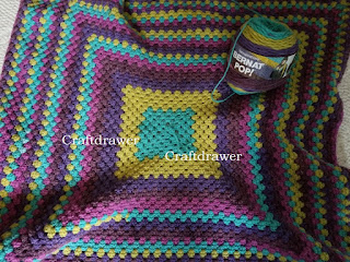 Easy to Crochet Granny Square Afghan