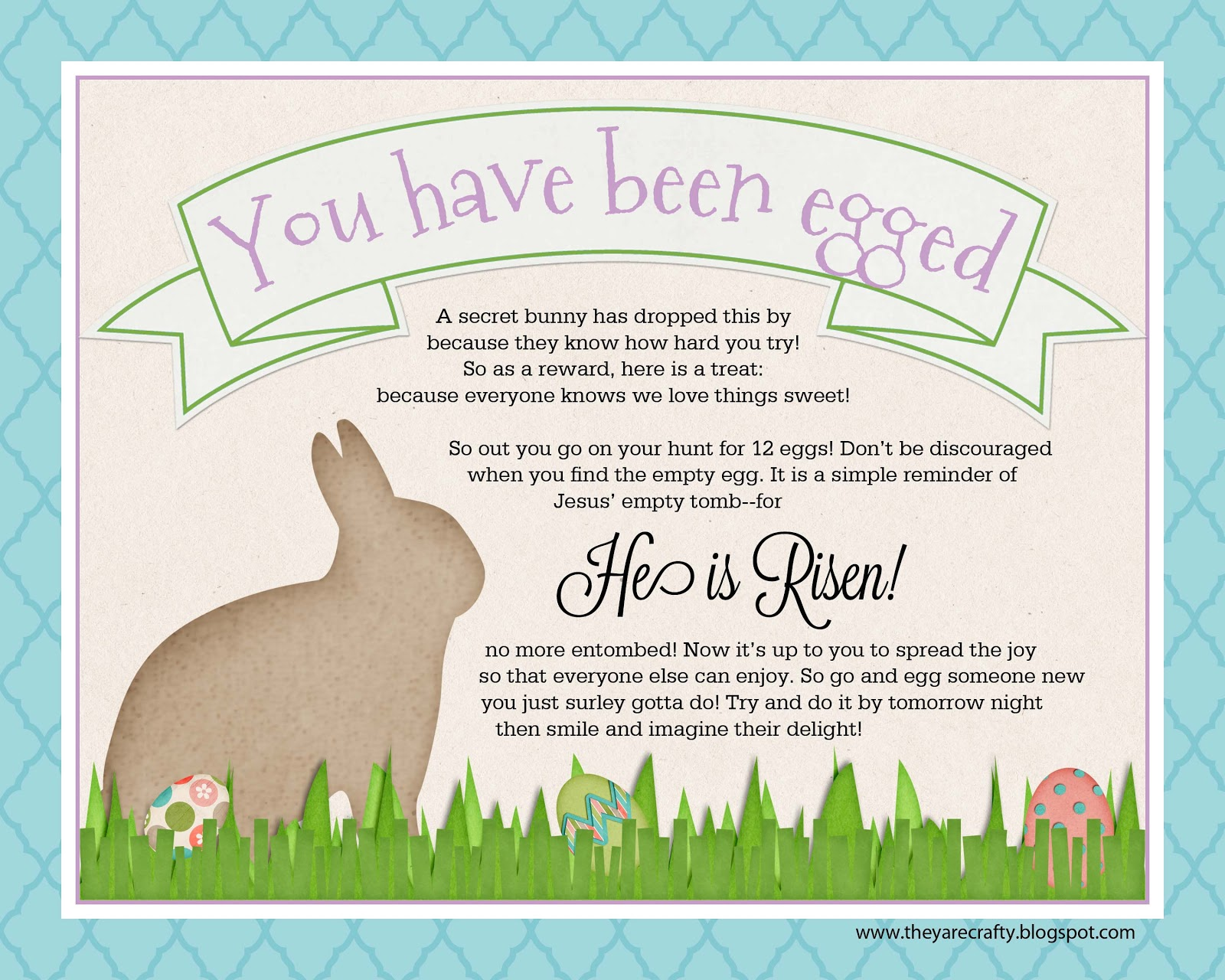 They Are Crafty Easter Round Up