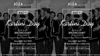 Special Package From Alila Solo In Kartini Day April, 21 2018