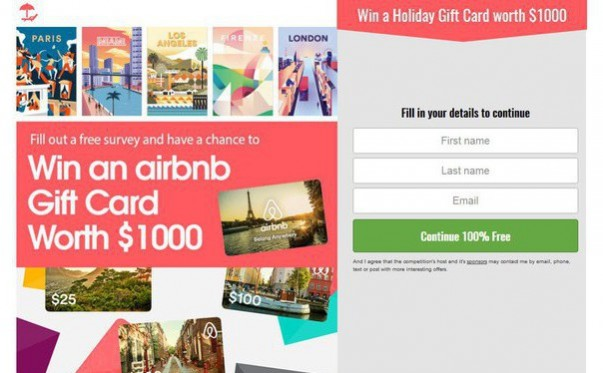 Win A Airbnb Gift Card Worth 1000