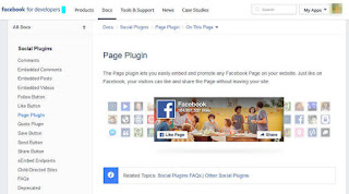 How to add Facebook Page Widget to Blogger Website – Facebook Widget for Website