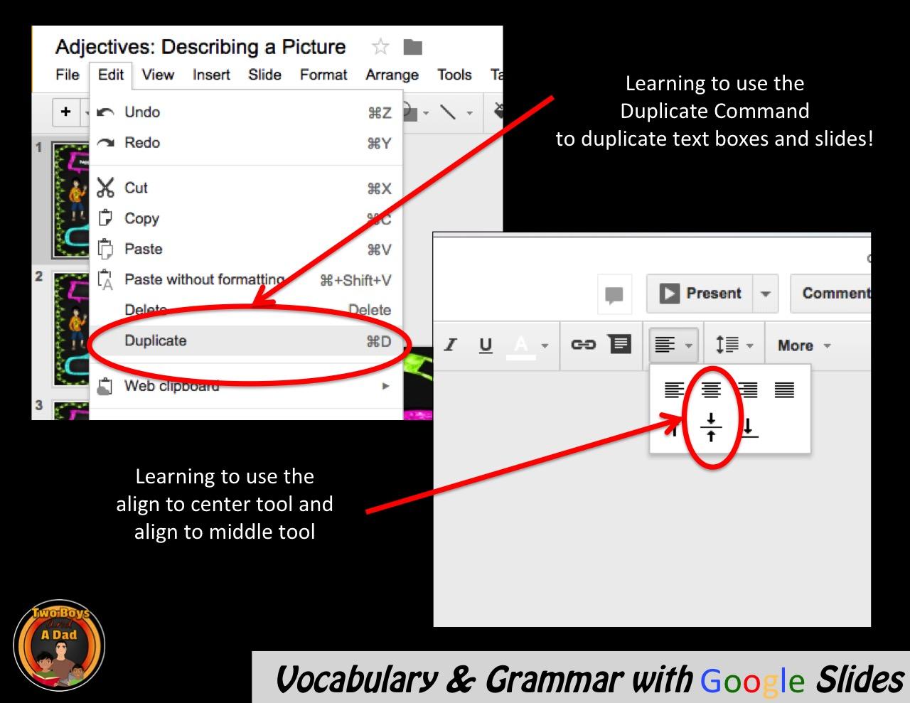 How to make a venn diagram on google slides roho4senses how ccuart Images