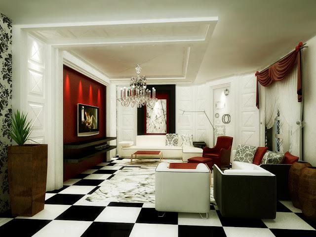 Советы дизайнеров. Узоры в интерьере гостиной