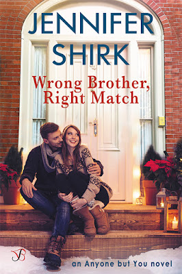New Release!!! Wrong Brother, Right Match by Jennifer Shirk